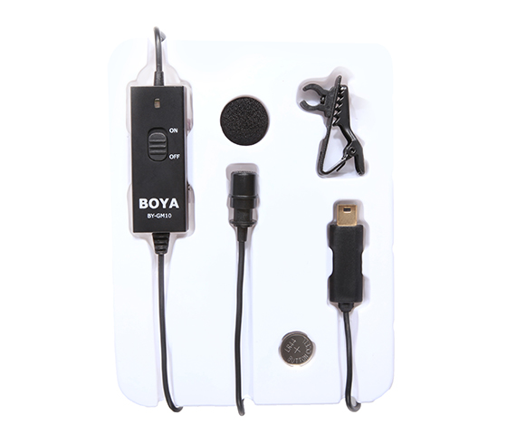 BY-GM10 Lavalier Microphone