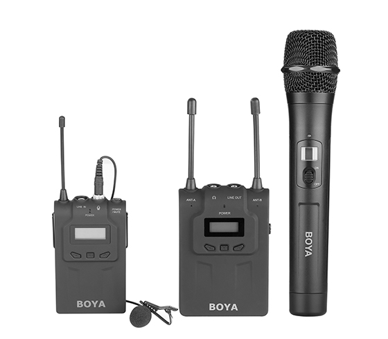 BY-WMH8  UHF Wireless Handheld Microphone