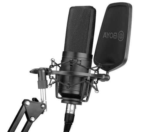 BY-M1000 Large Diaphragm Condenser Microphone