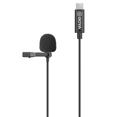 BY-M3-OP Clip-on Digital Lavalier Microphone for DJI OSMO™ Pocket