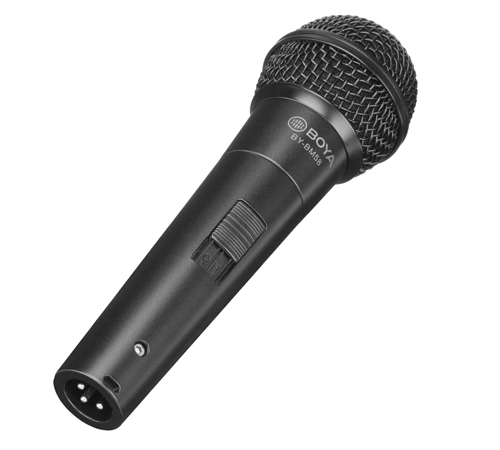 BY-BM58 Cardioid Dynamic Vocal Microphone