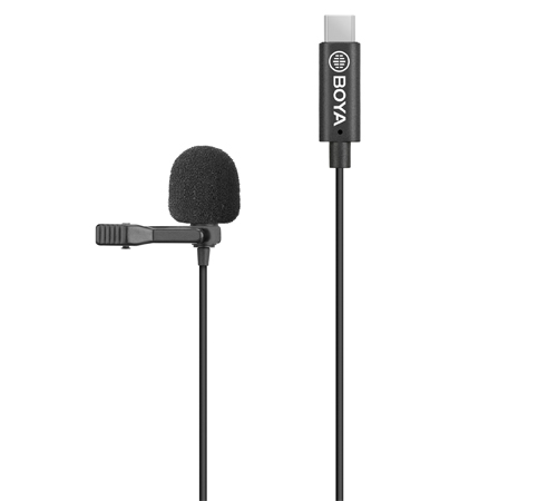 BY-M3-OA Omnidirectional Lavalier Microphone