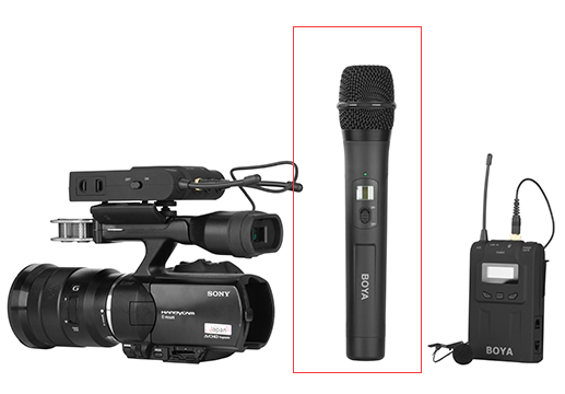 BY-WHM8 handheld microphone